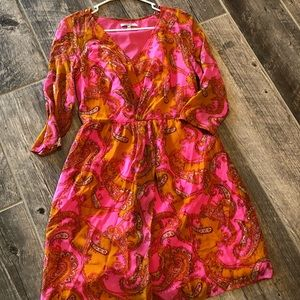 Broadway & Broome Silk Dress